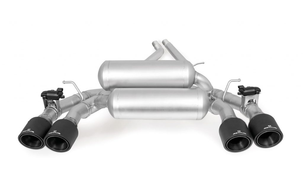 Remus Racing Axle Back Exhaust – M2 Competition