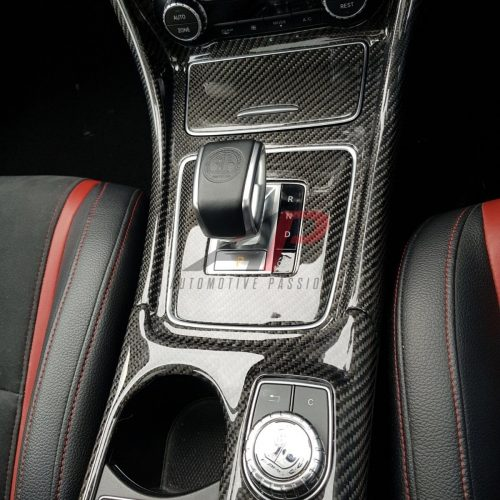 Mercedes-Benz Carbon Fibre Full Centre Console A/CLA/GLA45 Pre FL