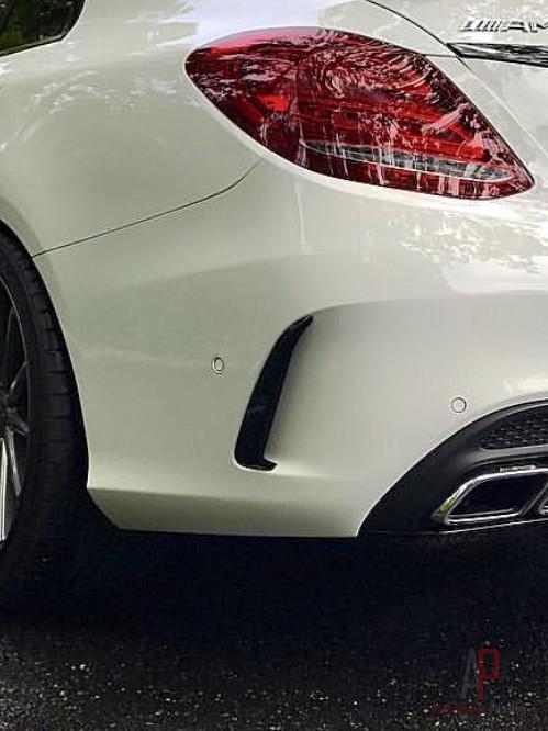 Mercedes-Benz Edition1 W205 C Class Sedan Rear Aero Flicks