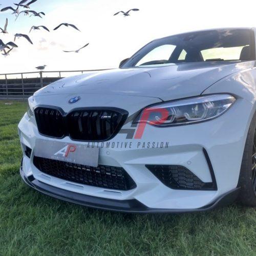 BMW M2 COMP FRONT SPLITTER DRY CARBON AP DESIGN