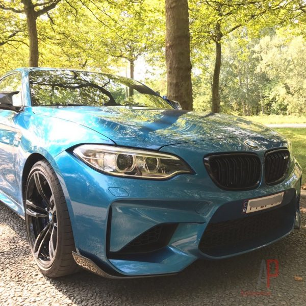 BMW F87 M2 MP Carbon Fibre Front And Rear Side Splitters