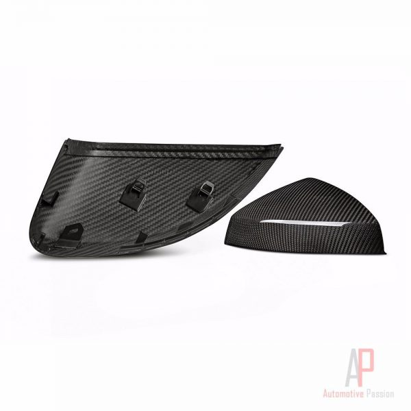 Audi A3 8V Full Dry Carbon Fibre Mirrors (without lane track assist)