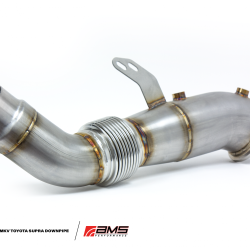 AMS Performance MKV A90 2020+ Toyota Supra Stainless Steel Race Downpipe
