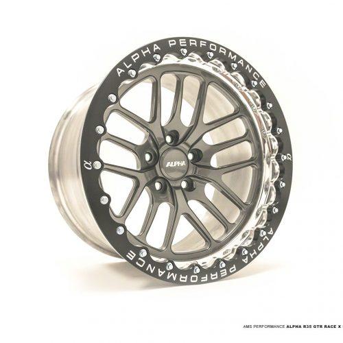 ALPHA Performance Race X 17X10″ 2-Piece FRONT Beadlock Drag Wheel (Each)
