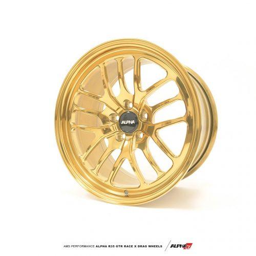 ALPHA Performance Race X 18X11″ 2-Piece FRONT Drag Wheel (Each)
