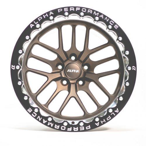 ALPHA Performance Race X 17X10″ 2-Piece REAR Beadlock Drag Wheel (Each)