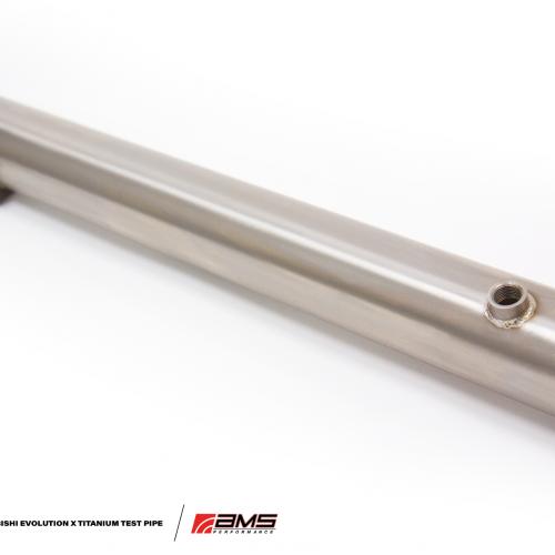 AMS Mitsubishi Lancer Evolution X/Ralliart Titanium Test Pipe