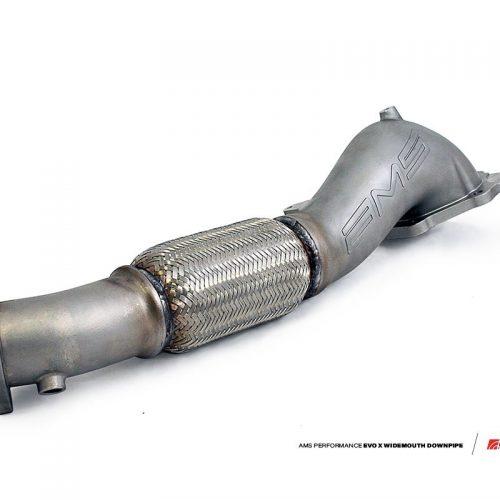 "AMS Mitsubishi Lancer Evolution X ""Widemouth"" Downpipe"