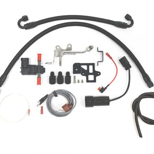 Alpha Performance Infiniti Q50/Q60 Flex Fuel Complete Kit (Incl Fuel-It Bluetooth, Sensor, EcuTek Input)