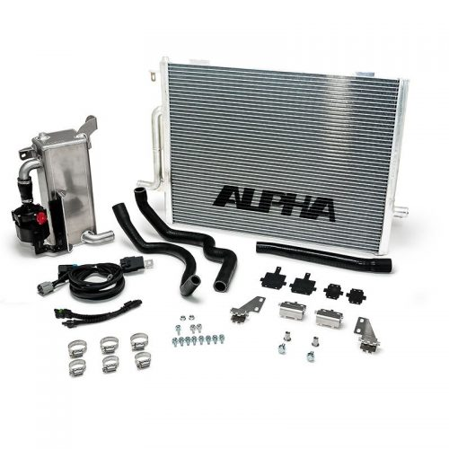 ALPHA Audi B8 S4 Supercharger Cooling System