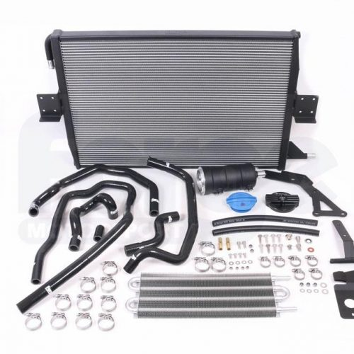 Forge – Audi S4 B8 and S5 B8 3.0 TFSI Charge Cooler Radiator and Expansion Tank kit 4