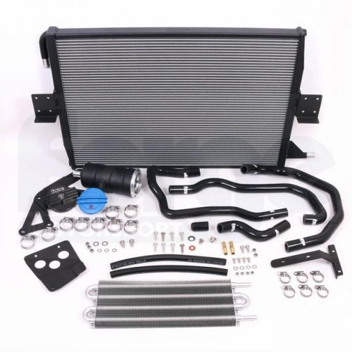 Forge – Audi S4 B8 and S5 B8 3.0 TFSI Charge Cooler Radiator and Expansion Tank kit 3
