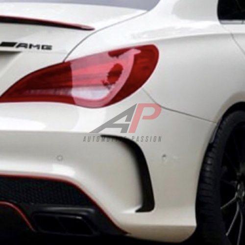 Mercedes CLA Rear Aero Flicks Aggressive Style