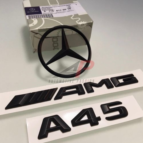 MERCEDES-BENZ A45 AMG BADGE SET