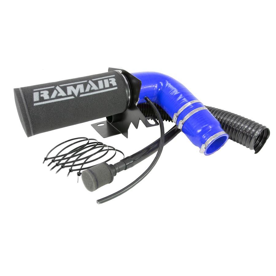 RAMAIR – Citroen DS3 & DS4 1.2 THP & VTI 110/130 & Peugeot 208 & 308 1.2 THP 110/130 – Induction Intake Foam Air Filter Kit – Blue Hose