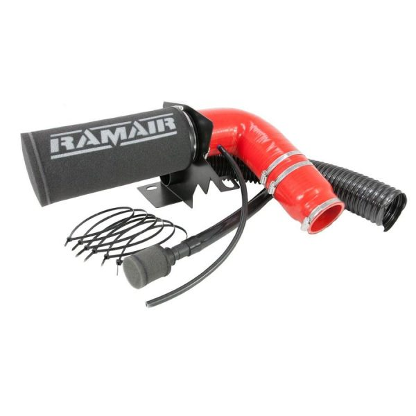 RAMAIR – Citroen DS3 & DS4 1.2 THP & VTI 110/130 & Peugeot 208 & 308 1.2 THP 110/130 – Induction Intake Foam Air Filter Kit – Red Hose