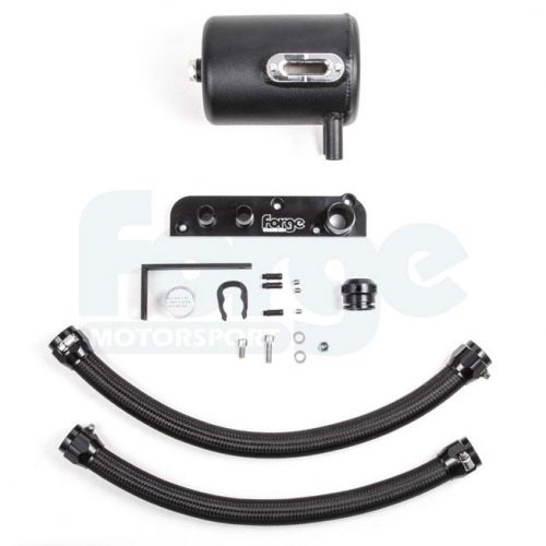 Forge – Oil Catch Tank System for Audi TT MK2 2.0 Vehicles Without Charcoal Filter