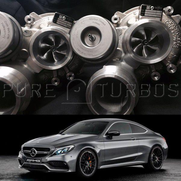 Mercedes Benz C63S & AMG GT M177/M178 PURE 800 Upgraded Turbos