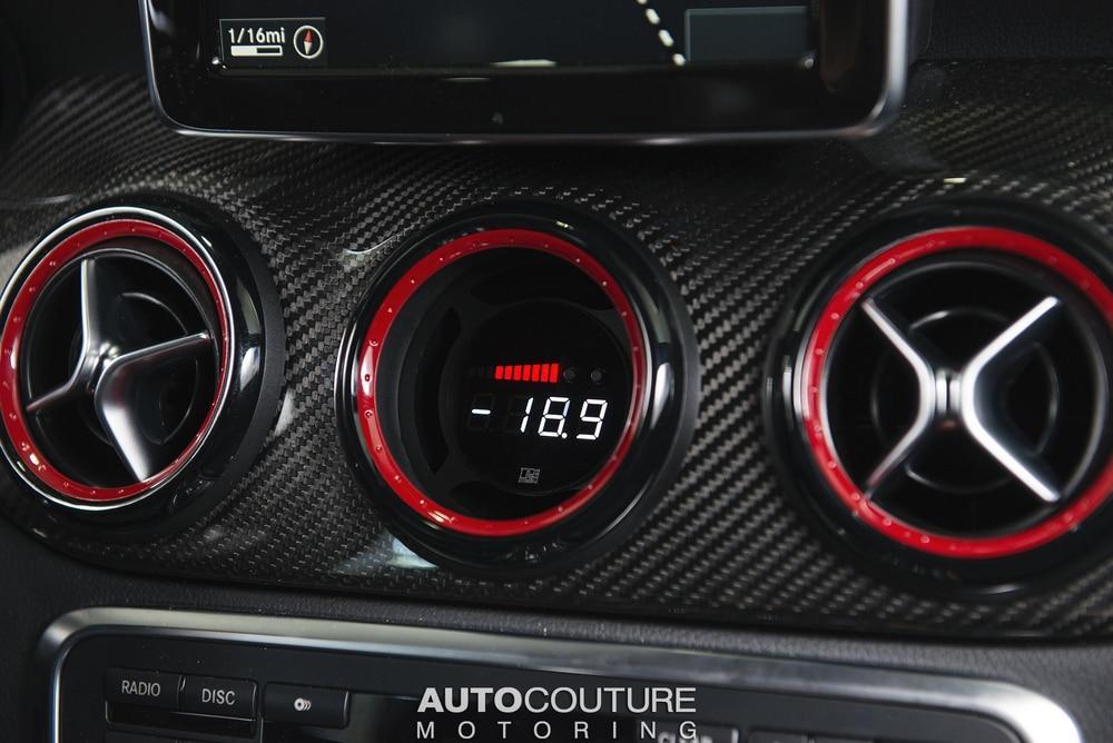 P3 V3 OBD2 Gauge for Mercedes A / CLA / GLA Class Gauge (2013-2019)
