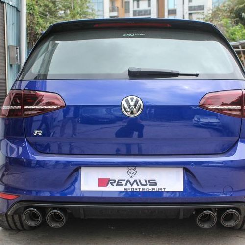 Remus Cat Back Exhaust – Volkswagen Golf MK7 R – 2014 – Present
