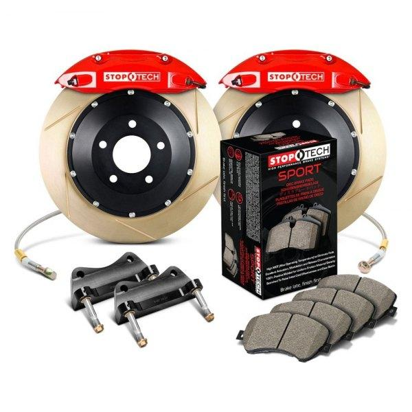 StopTech® Slotted Front Big Brake Kit For ACURA Integra except Type R 1990 2001