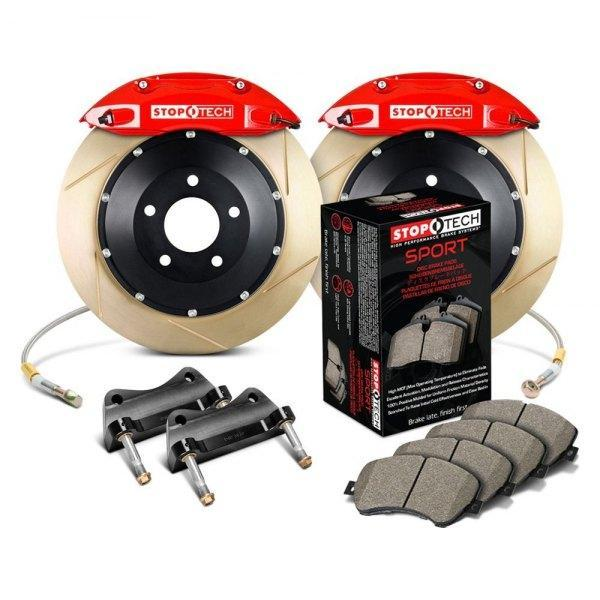 StopTech® Slotted Front Big Brake Kit For ACURA RL (Special Order; 60 Day Delivery) 1996 2004