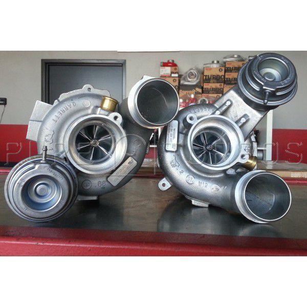 BMW X5M/X6M (S63) / M5/M6 (S63tu) Stage 1 Pure Turbos