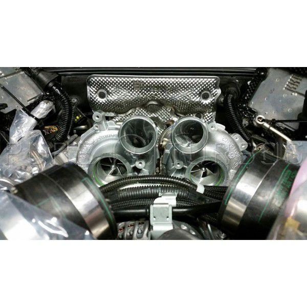 BMW X5M/X6M (S63) / X5M/X6M/M5/M6 (S63tu) Stage 2 Pure Turbos