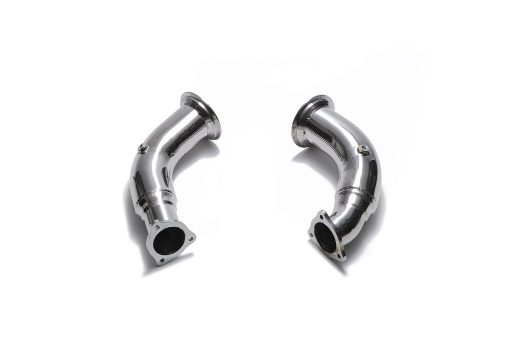 Armytrix – Stainless Steel Sport Cat pipe with 200 cpsi catalytic converters for AUDI RS4 B9 29 TFSI AVANT