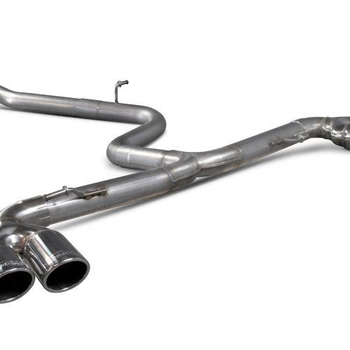 Scorpion Exhausts Audi TT Mk2 2.0 Tdi Quattro (Not Cabriolet) 2009 2014 Cat-back system – Monaco (quad) Tips