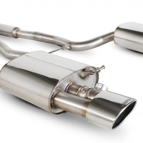 Scorpion Exhausts Audi RS4 4.2 V8 B7  2006 2008 Resonated cat-back system with vacuum valves – EVO Tips