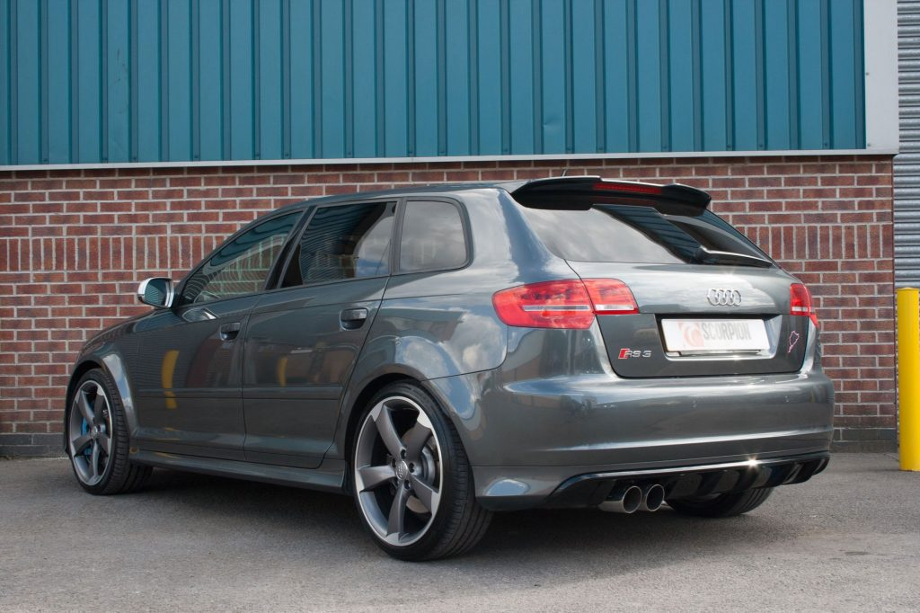 Scorpion Exhausts Audi RS3 8P 2011 2012 Non-resonated secondary cat-back system – Daytona TIps