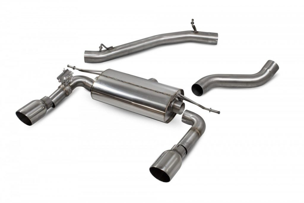 Scorpion Exhausts Audi TT MK3 2.0 TFSi Quattro Non GPF Model Only 2014 2019 Non-res cat-back system with electronic valves – Daytona TIps