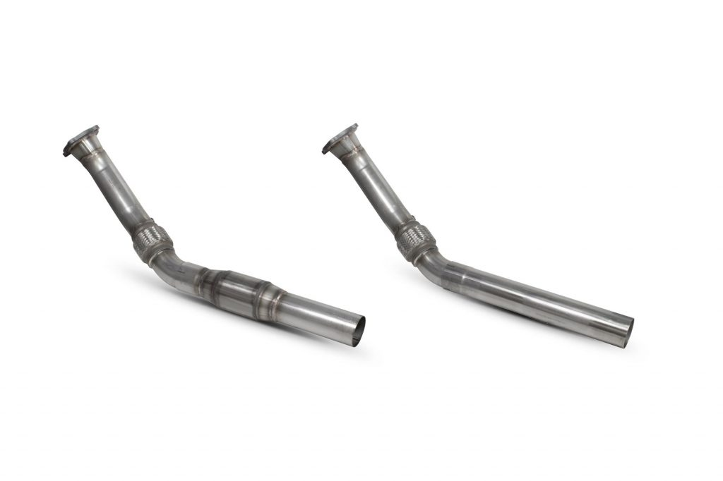 Scorpion Exhausts Audi TT Mk1 180 1988 2006 Downpipe with a high flow sports catalyst