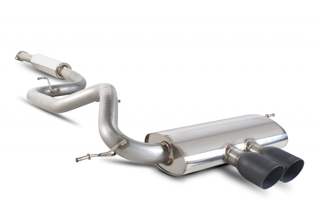 Scorpion Exhausts Ford Focus MK3 ST 250 Hatch Non GPF Model Only 2012 2019 Resonated cat-back system – Daytona Ceramic Tips