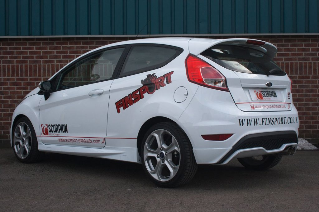 Scorpion Exhausts Ford Fiesta ST 180 2013 2017 76mm/3 Resonated cat-back system – Daytona Tips