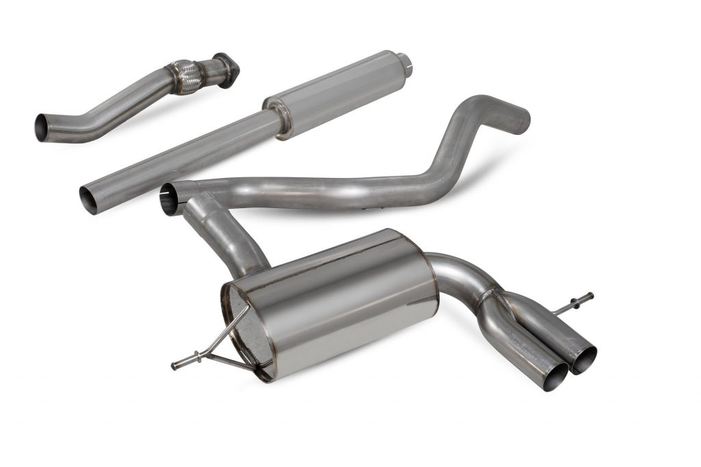 Scorpion Exhausts Renault Megane RS280 (Non GPF) 2018 2018 Resonated cat-back system