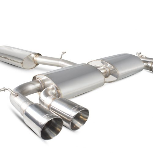 Scorpion Exhausts Volkswagen Golf MK7 R  2014 2016 Resonated cat-back system with no valves – Daytona Tips