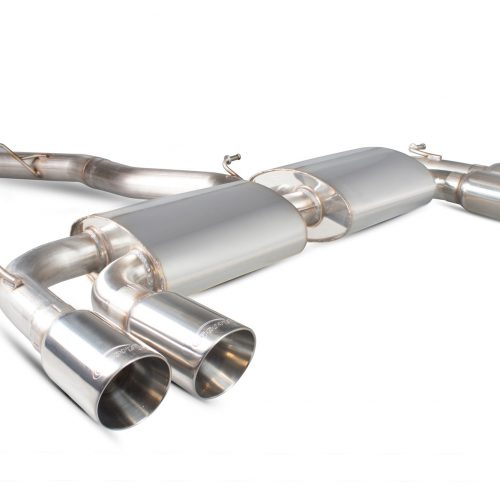 Scorpion Exhausts Volkswagen Golf MK7 R 2014 2016 Non-resonated cat-back system with no valves – Daytona Tips