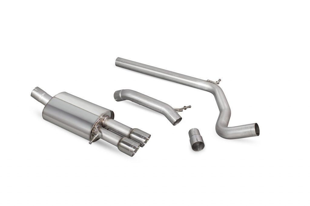Scorpion Exhausts Volkswagen Polo Gti 1.8T 9n3 2006 2011 Non-resonated cat-back system – Daytona Tips