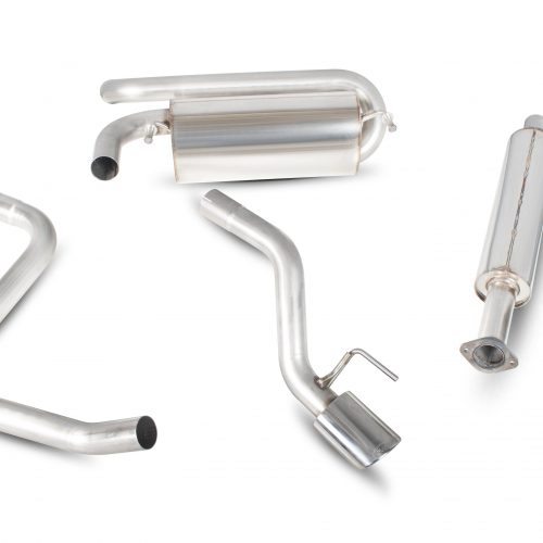 Scorpion Exhausts Vauxhall Astra GTC 1.6 Turbo  2009 2015 Resonated secondary cat-back system – EVO Tips