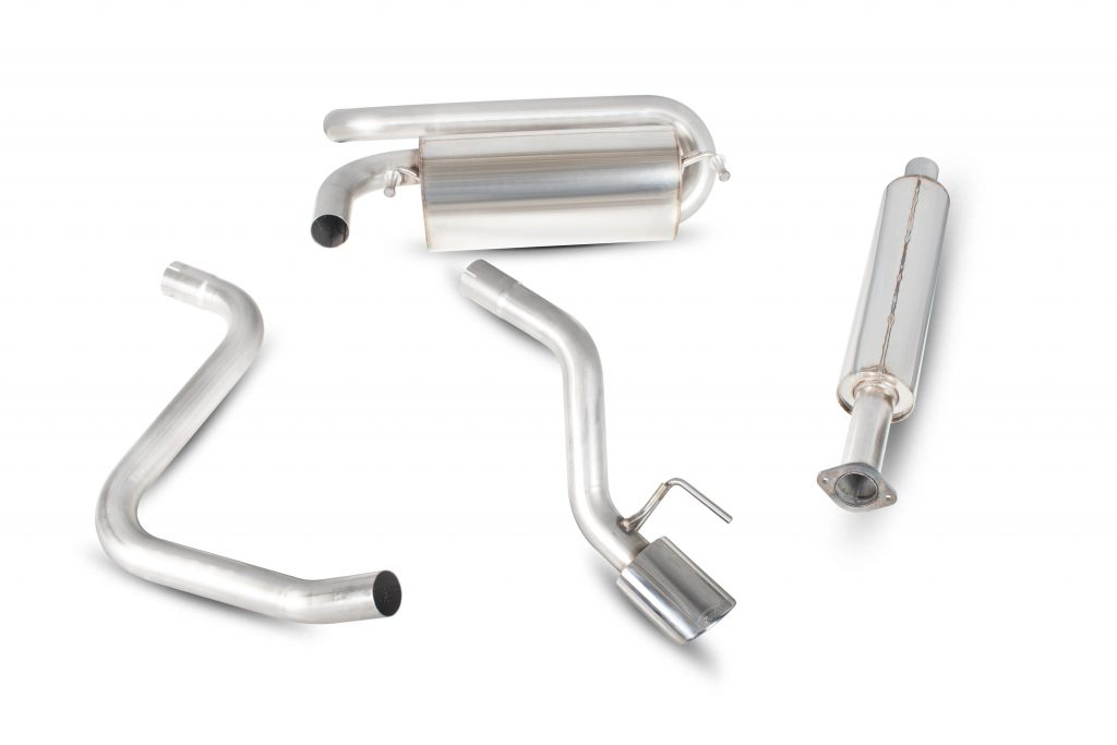 Scorpion Exhausts Vauxhall Astra GTC 1.4 Turbo  2009 2015 Non-resonated cat-back system – EVO Tips