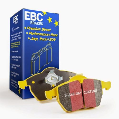 EBC Performance Pack Pad+Disc+Line Kit for Front+Rear With Yellowstuff Pads + D Series Discs Premium OE Discs (X4 Pads + X4 Discs + X4 Lines) for Mercedes A/CLA/GLA45 AMG W176