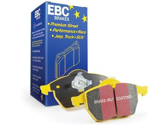 EBC Yellowstuff 4000 Series Street And Track Brake Pad Set To Fit Front – Renault Clio MK3 197/200 2010