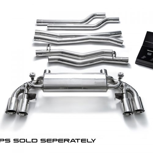 Armytrix – Stainless Steel Front pipe + Mid pipe + Valvetronic mufflers + Wireless remote control kits for BMW 5 SERIES F90 M5