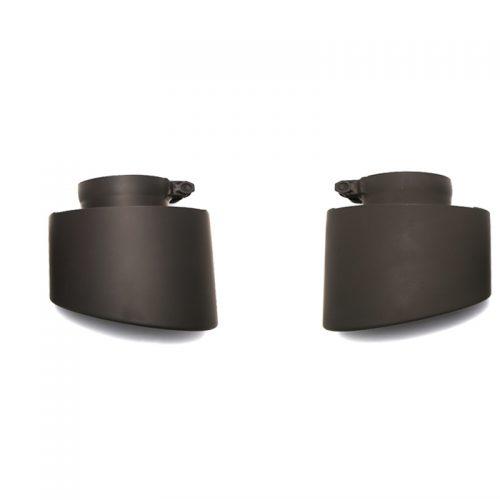Armytrix – Stainless Steel Dual matte black tips for AUDI RS3 8V 25 TFSI SPORTBACK
