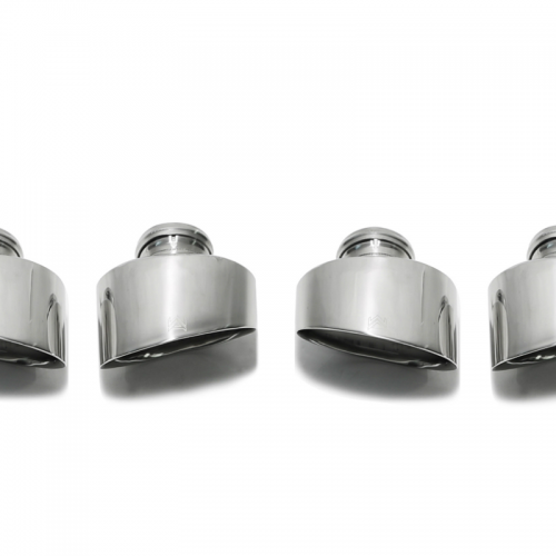 Armytrix – Stainless Steel Dual Chrome silver tips for AUDI RS3 8V 25 TFSI LIMOUSINE